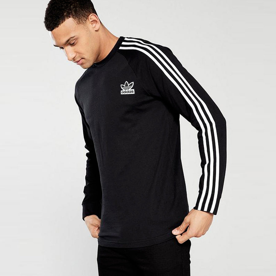 3 stripe dri fit summer long sleeve t shirt