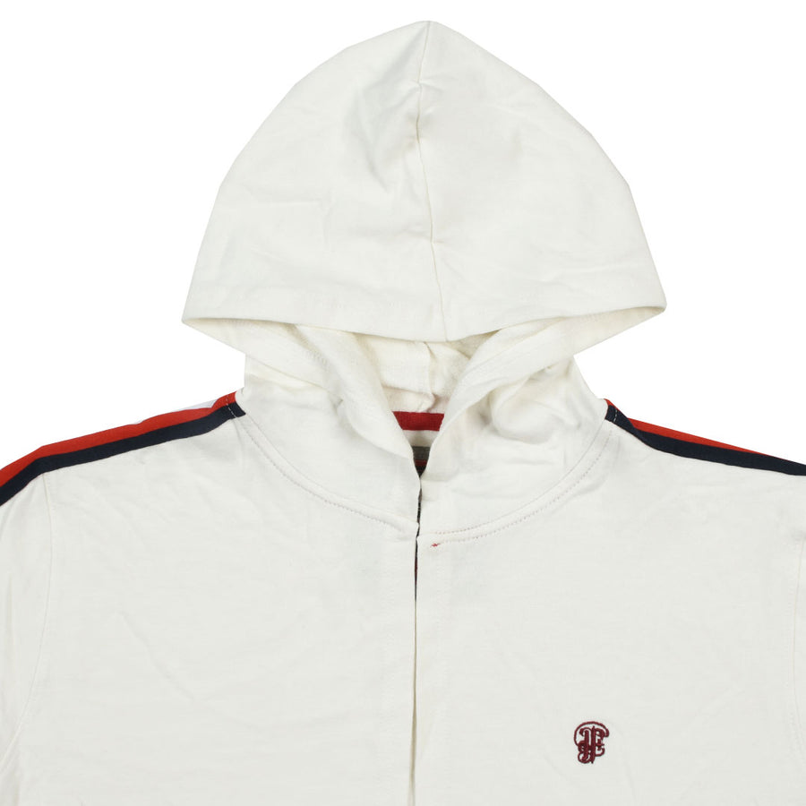 Funky's Grim hooded long Off White Cloak