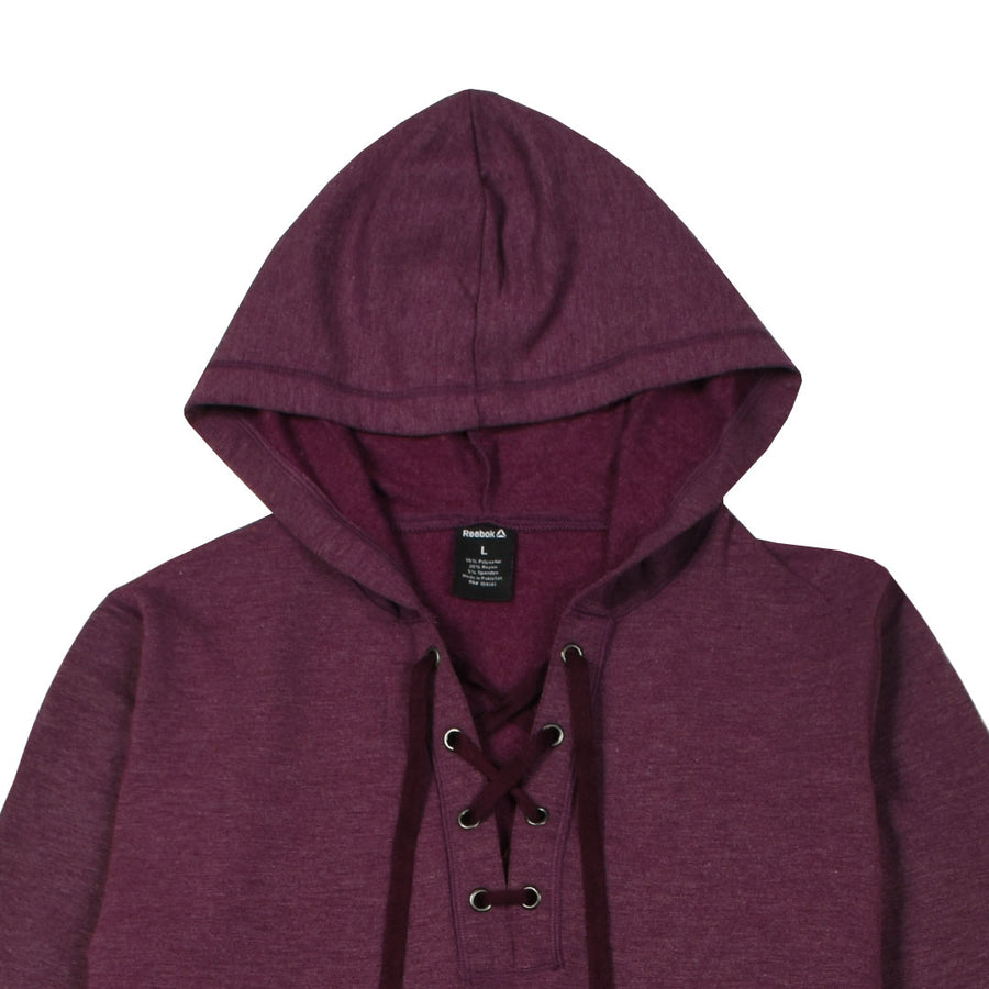 Women draw Cord Grape Purple  Hoodie