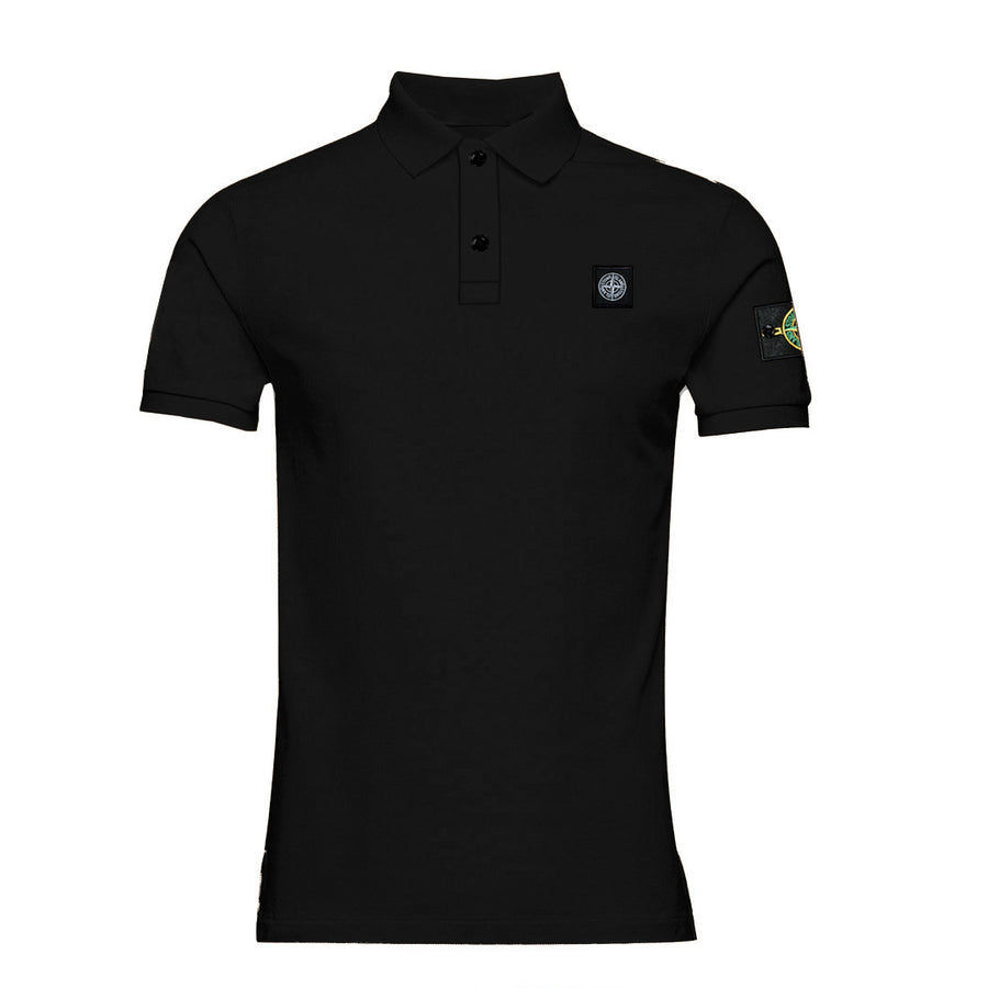 Flex Trait Black Polo