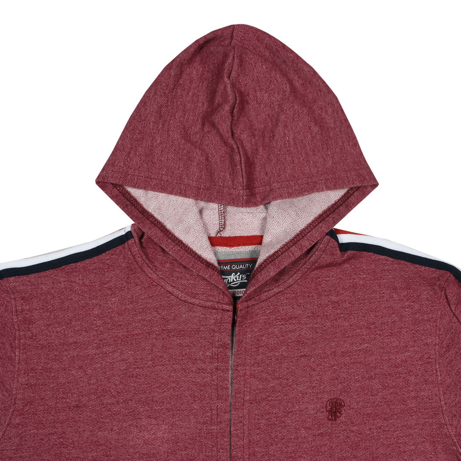 Funky's Grim hooded long Rich Maroon Cloak