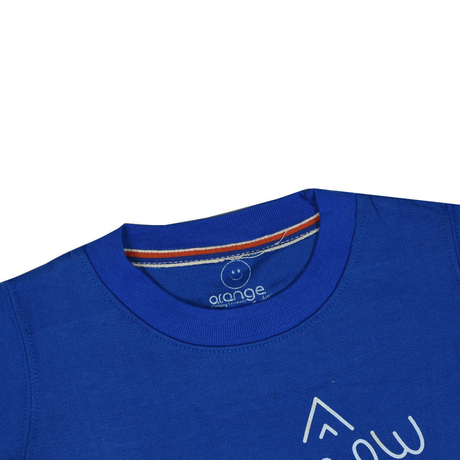 kid's You Meow Me Meow Royal Blue SweatShirt (1 YEARS TO 12 YEARS)