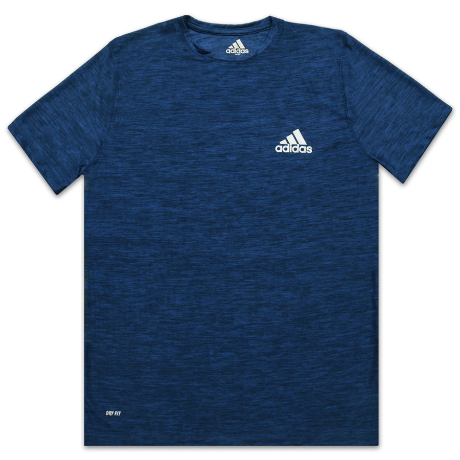 Funky's DRY FIT Athletic Printed Logo Blue T-SHIRT
