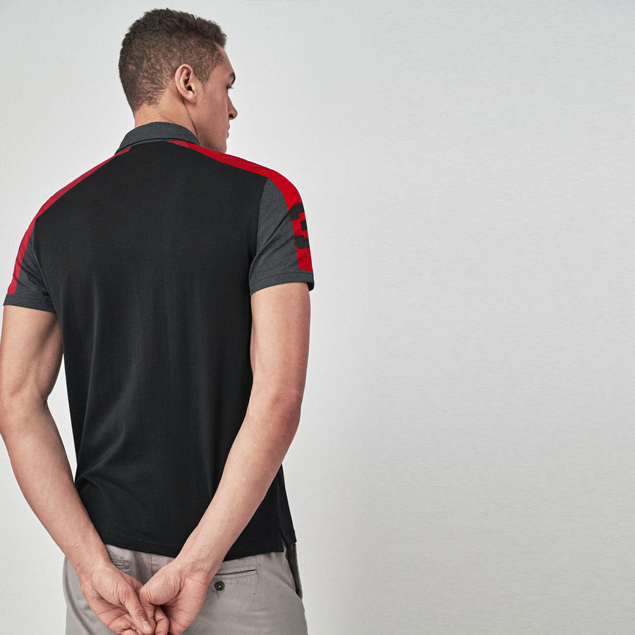 Solace Flex High Charcoal Essential Polo