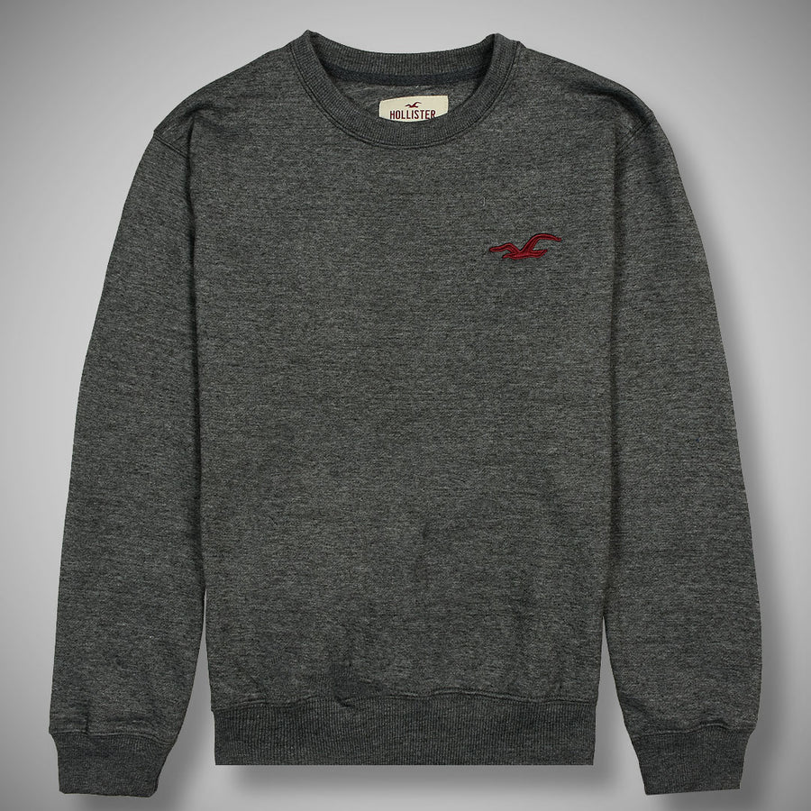 Solemn premier logo Dark Gray fleece sweat shirt