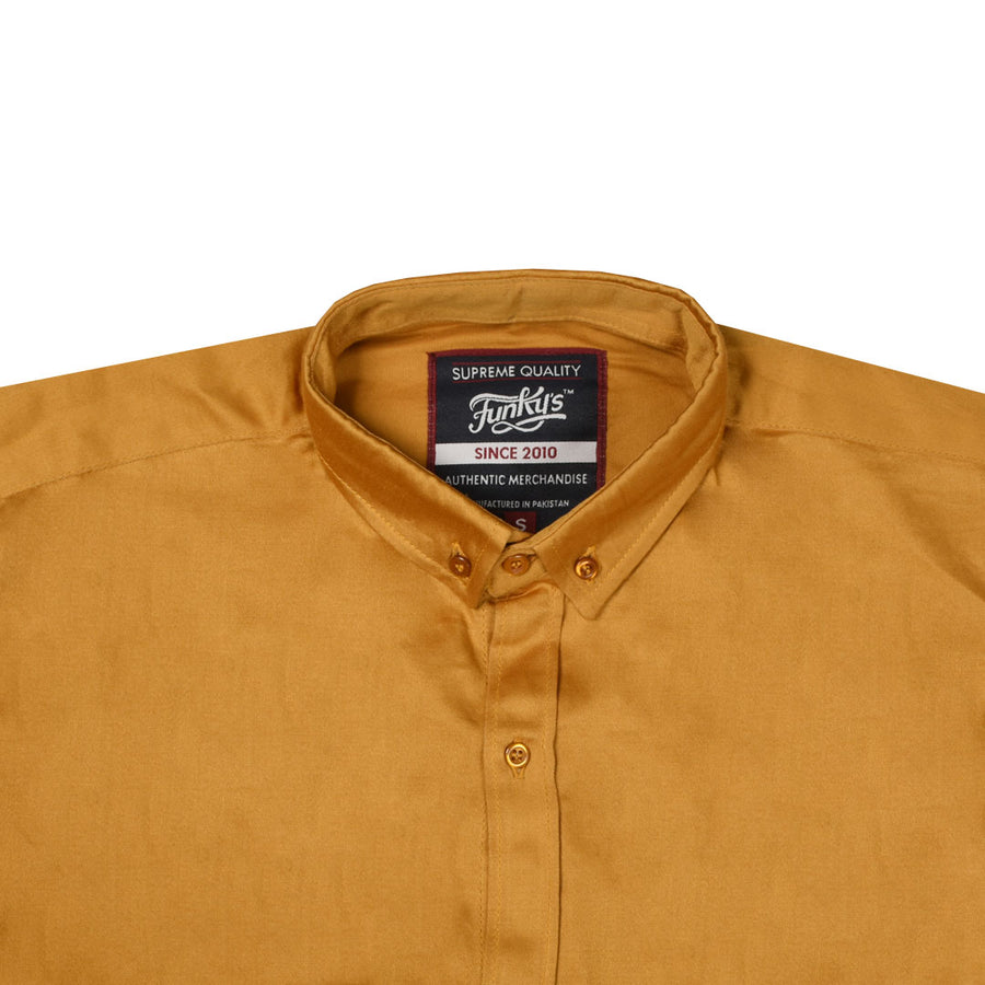 Funky's Gold Semi Formal / Casual Shirt