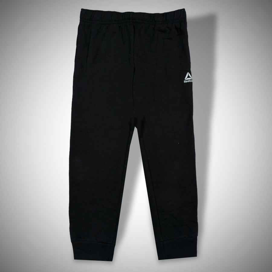 INTERLOCK FRONT  Logo Black Trouser