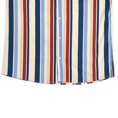 Funkys Vertical Multicolored Stripe Shirt