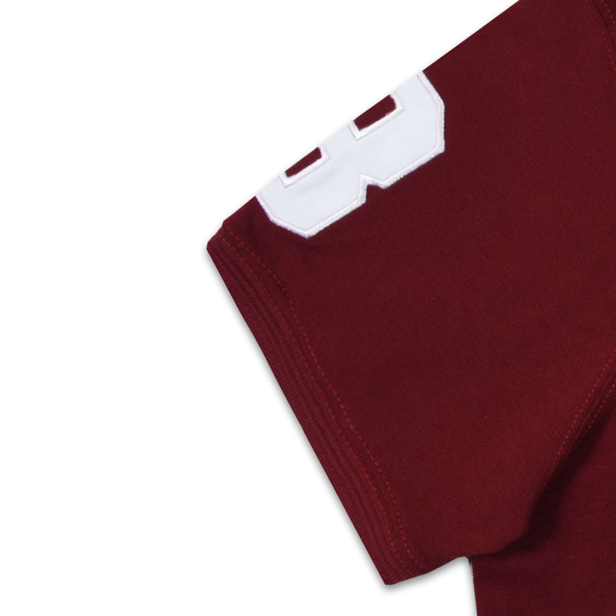 FLEX FIRST PRIO MAROON PREMIUM POLO