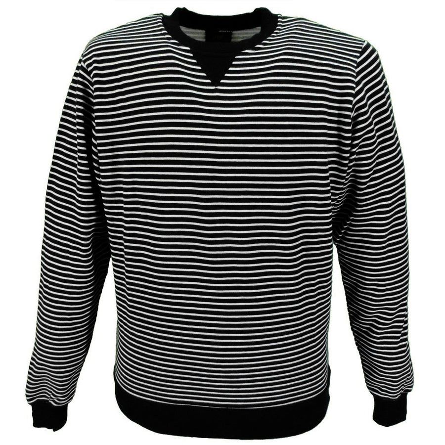 Men's every day striped sweat