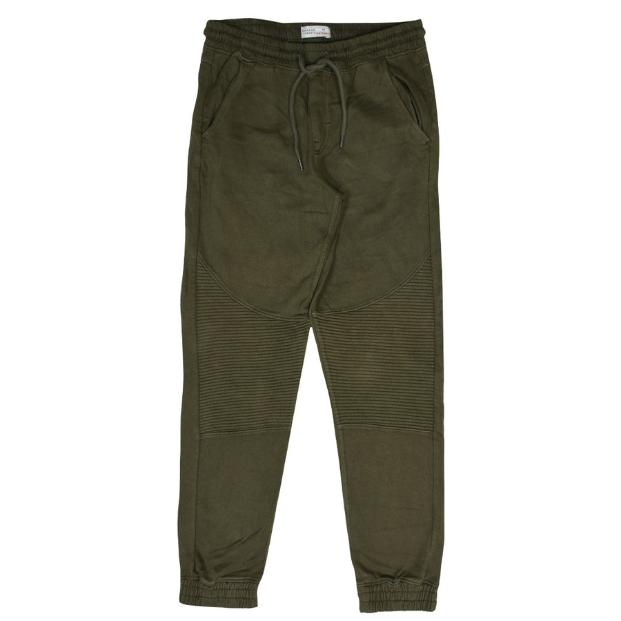 ZR Cut Label Knee Panel Olive Jogger Pant