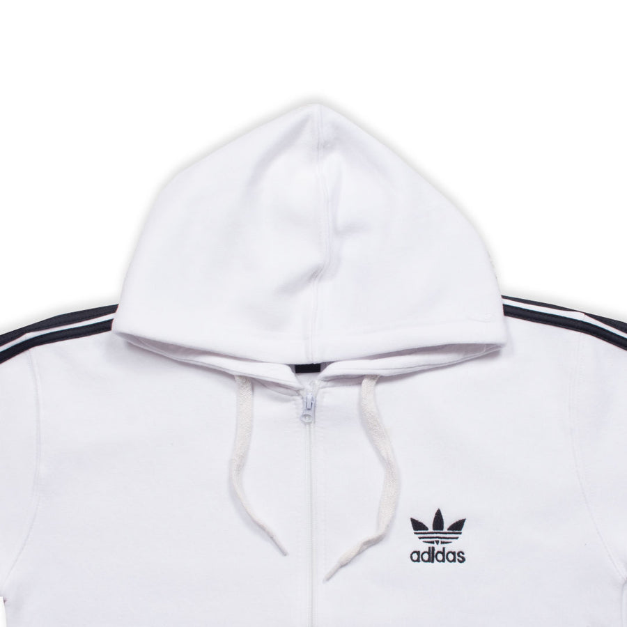 ADS WHITE BLACK STRIPED TRACK SUIT