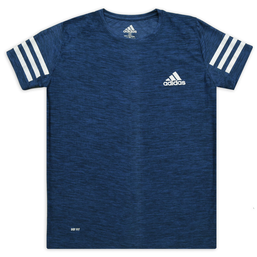 ADS DRY FIT BLUE T-SHIRT