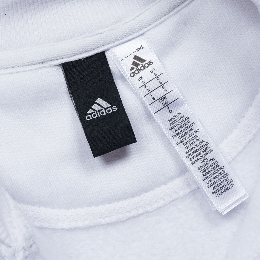 ADS SUPERSTAR THREE STRIPED WHITE TRACKSUIT