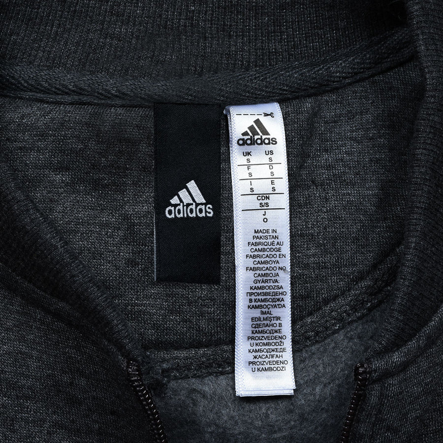 ADS SUPERSTAR THREE STRIPED CHARCOAL TRACKSUIT