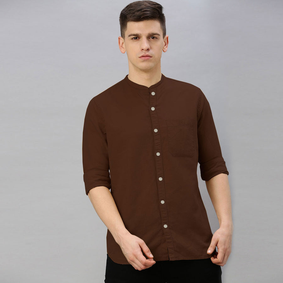 Funky's Monk Neck Casual Shirt