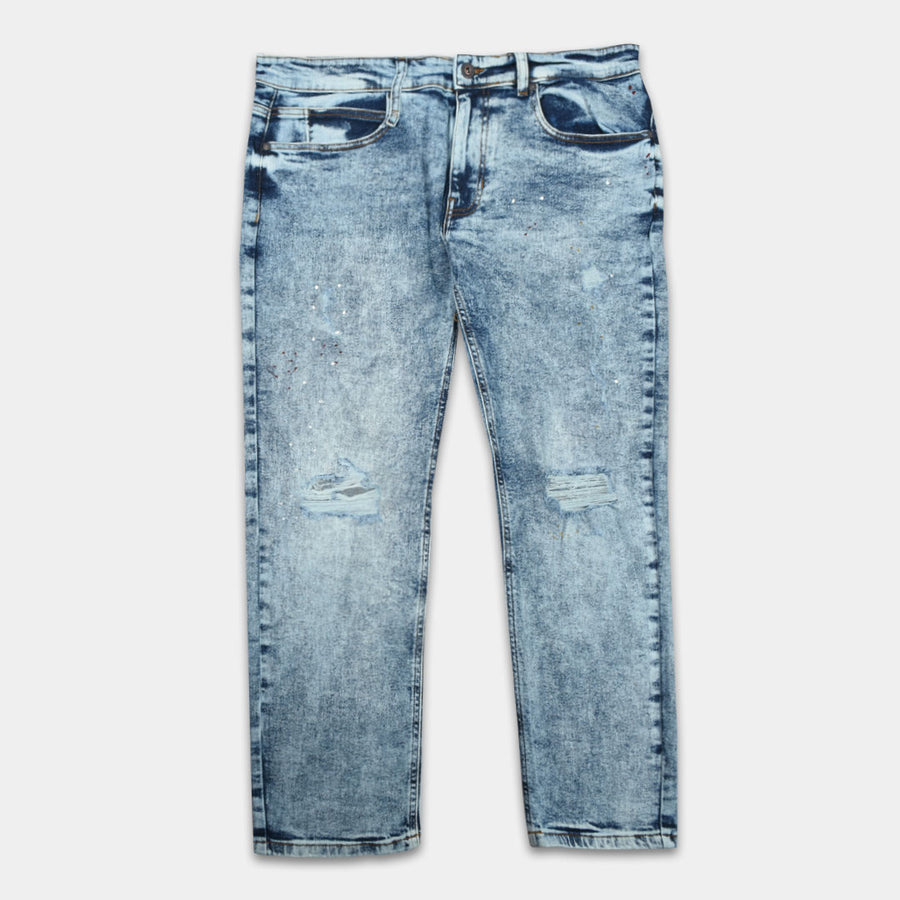 Big & Tall Ripped High Vogue Denim (waist 38 to 46)