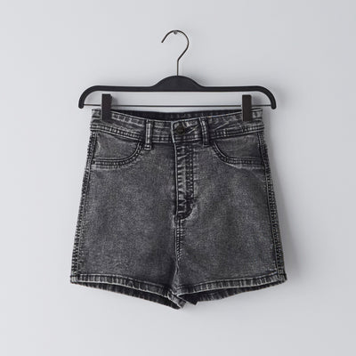 Mid Length Misty Denim/Jeans Shorts Waist (W22-W32)