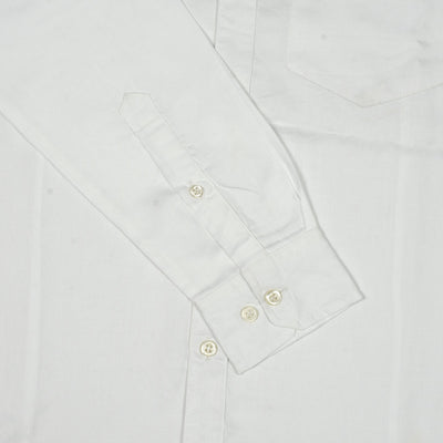 Funky's Basic White Oxford Shirt