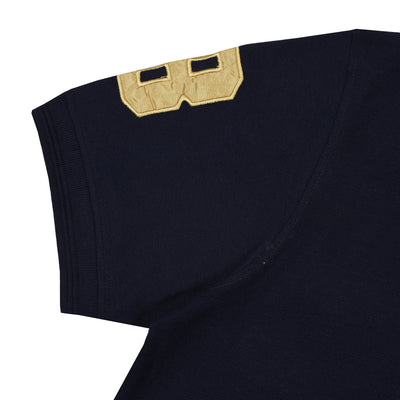 Left Chest Premium Logo Flex Navy Polo