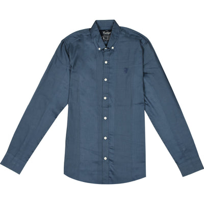 Funky's Self Fabric Stripes Oxford Shirt