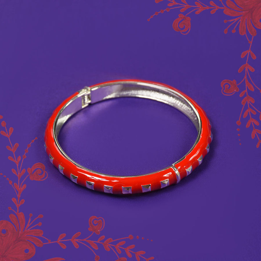 Women Mini Box design Clutch Bangle