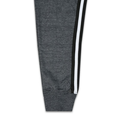 Funky's Phantom Side Striped Charcoal jogger Pants