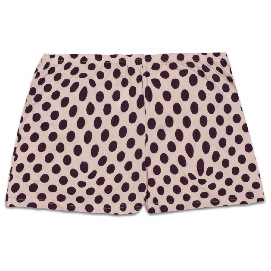 Night Wear/ Under Wear Dots Printed  Jersey Boxer