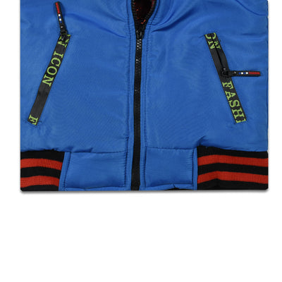 Kids Blue Puffer Jacket (3 YEARS - 8 YEARS)