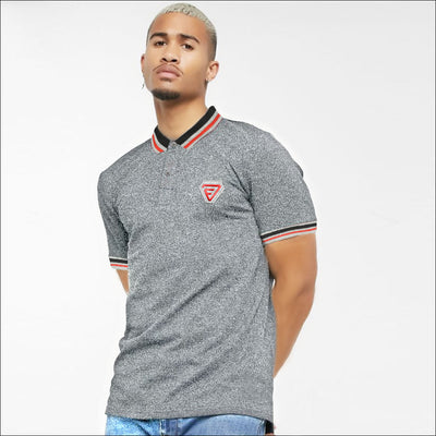 Funky's Premium Front Embroidered Logo Polo