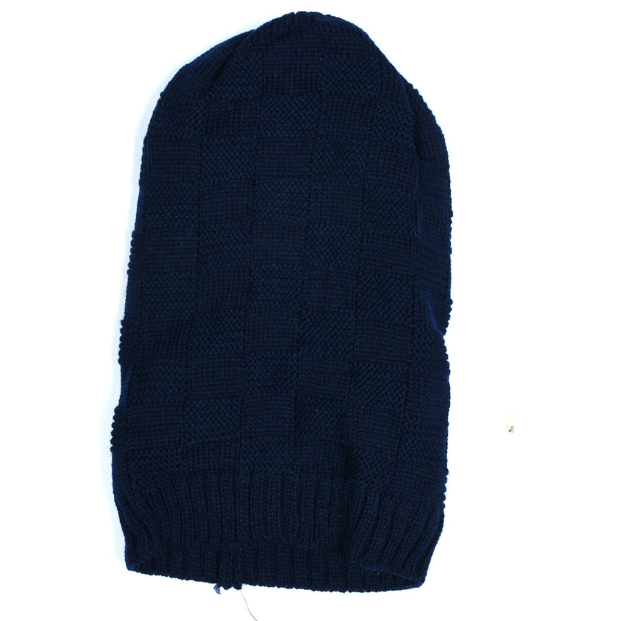 Self Check Inside Fur Beanie