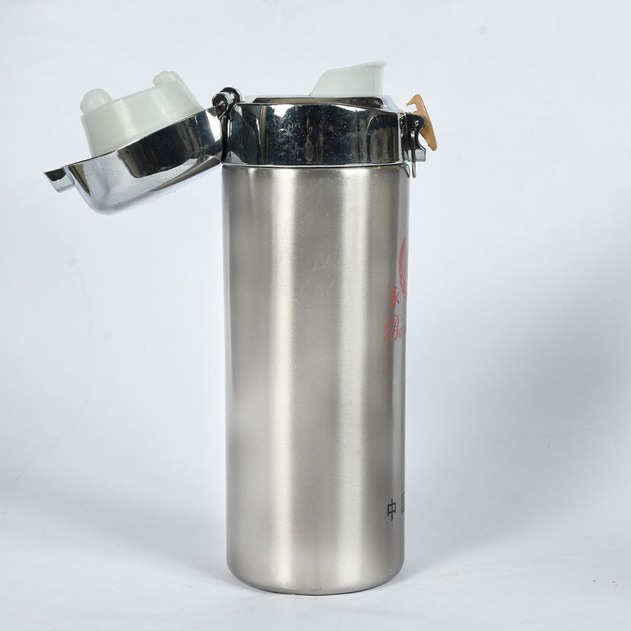 Stainless Steel Water locking Lid Bottle (500 ml)