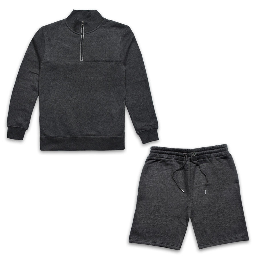 PARAGON CHARCOAL TRACKSUIT WITH SHORTS