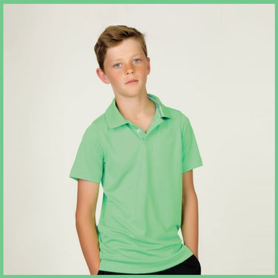 BOYS PIQUE PRIME POLO SHIRT (3 YEARS TO 12 YEARS)
