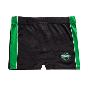 Biking Skate Sports Panel Boxer Shorts