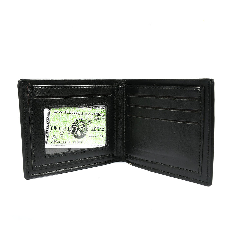 Men Black bifold  Wallet