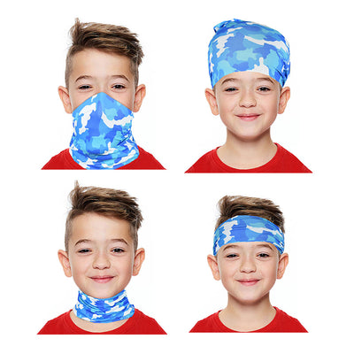 Kid's Printed Design Multifunctional Magic Bandana