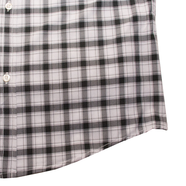 American Eagle Black and White Checkered Casual Shirt - Deeds.pk