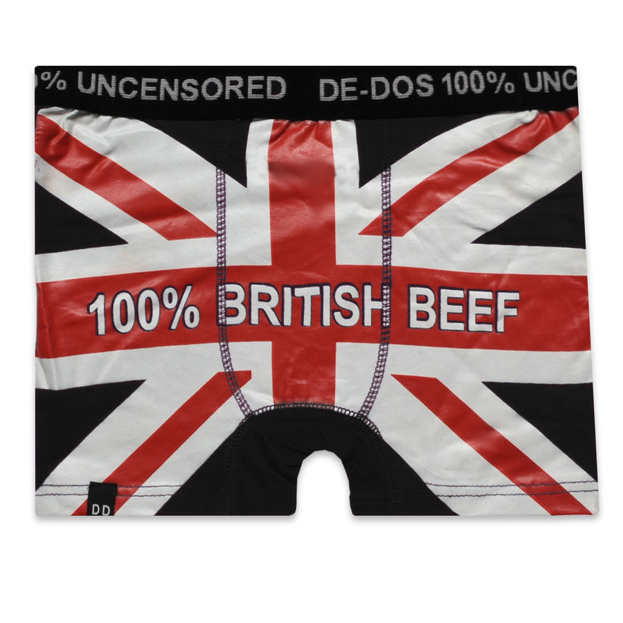 BRITISH BEEF Novelty Boxer (100% Uncensored)