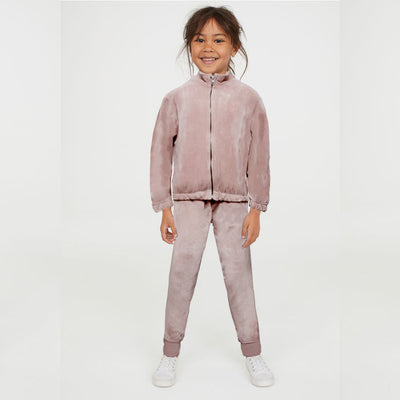 ZR Girls Fawn Velvet Suit ( 5 YEARS TO 14 YEARS )