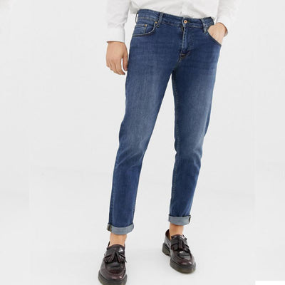 511 LS Dark Blue Slim Fit Denim - Deeds.pk