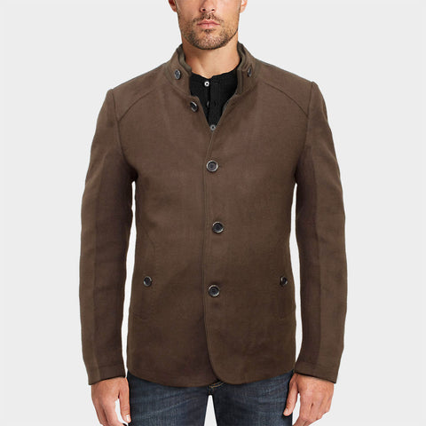 Deluxe Prime Winter Woolen Coat - Deeds.pk
