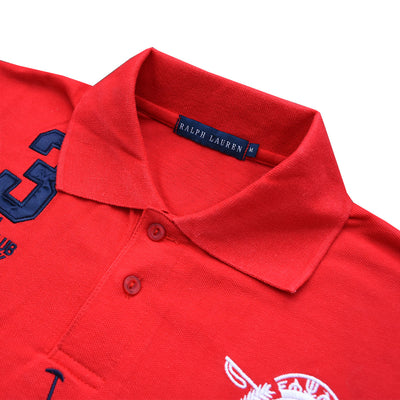 Ralph Lauren Falu Red NY Polo - Deeds.pk