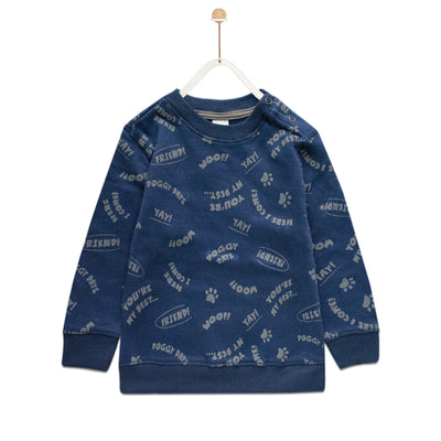 Baby Club You're My Best Printed Sweat Shirt ( 3 MONTHS TO 18 MONTHS ) - Deeds.pk