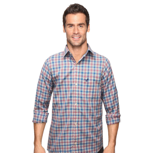American Eagle Multi Color Checkered Casual Shirt - Deeds.pk