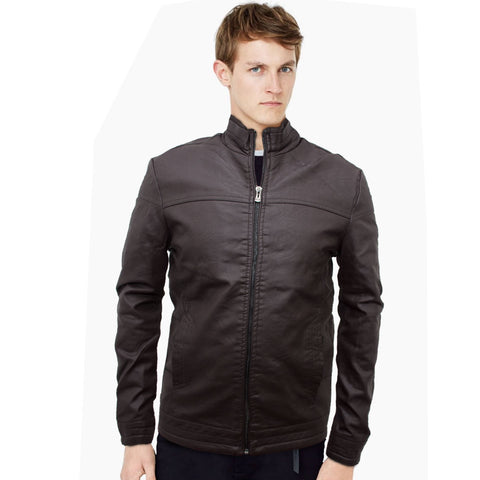 Dirc Vogue Leather Biker Jacket - Deeds.pk