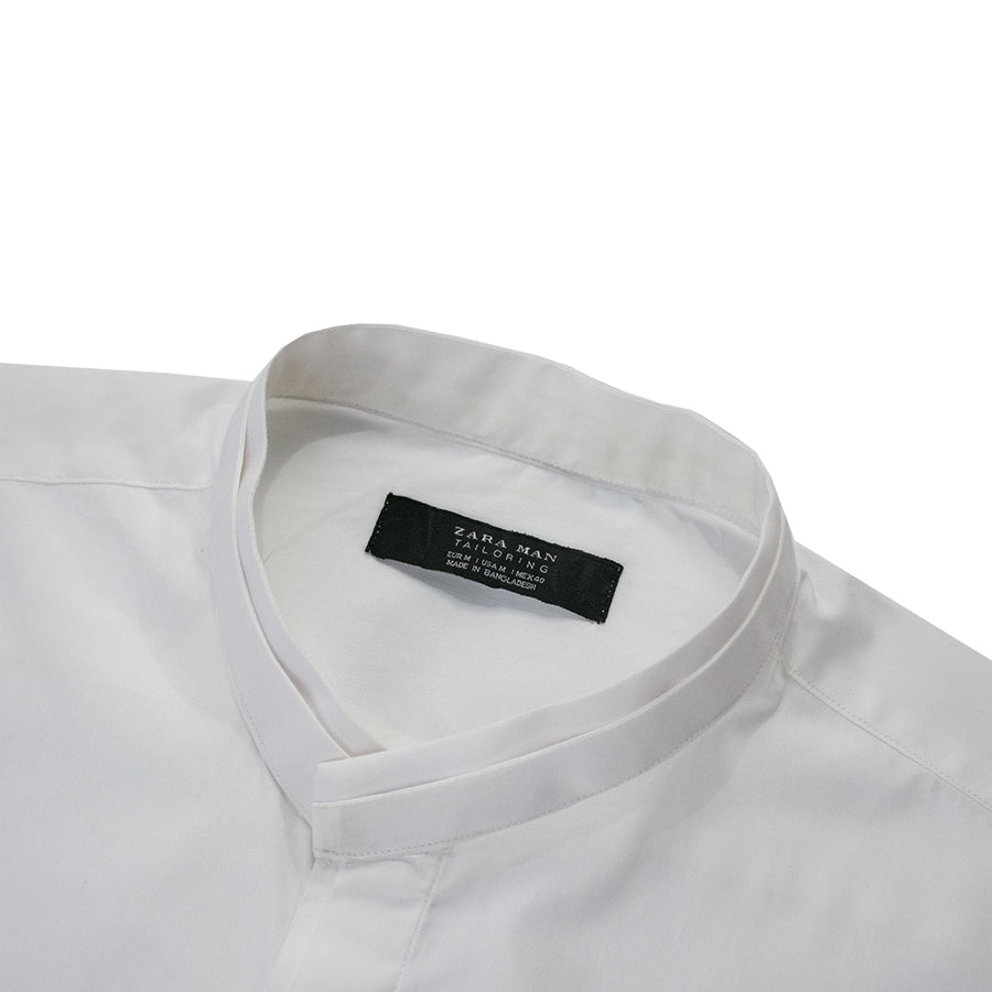 Zara Man Classic White B-Quality Casual Shirt