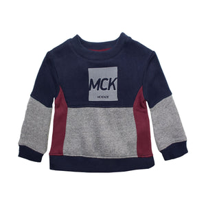 McKenzie Crew Neck Baby Boy Sweat Shirt