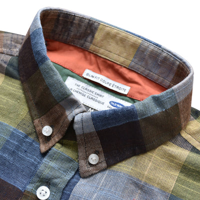 Old Navy Forest Check Half Sleeves Shirt - Deeds.pk