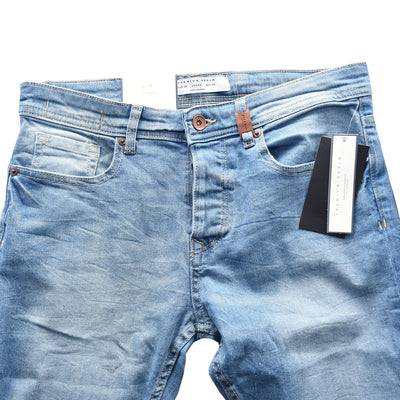 Zara Slim Fit Premium Blue Denim - Deeds.pk